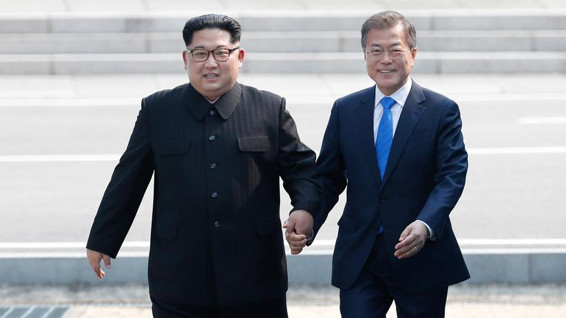 Nordkorea: Kim Jong Un besucht erstmals Südkorea