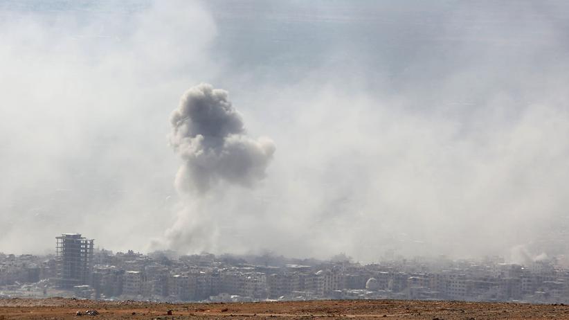 Syrien: Ein Angriff in Ost-Ghuta nahe Damaskus in Syrien: Hat das Assad-Regieme Giftgas eingesetzt?