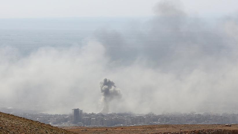 Syrien: Russland beschuldigt Briten, Giftgasangriff inszeniert zu haben