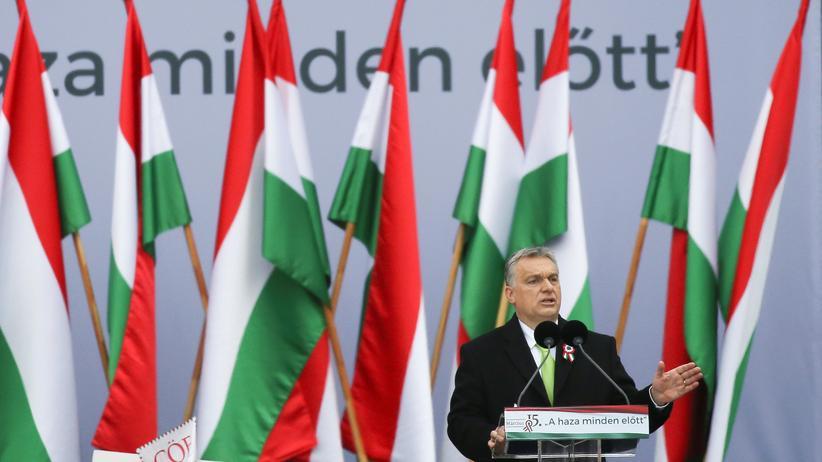 Emmanuel Macron und Viktor Orbán