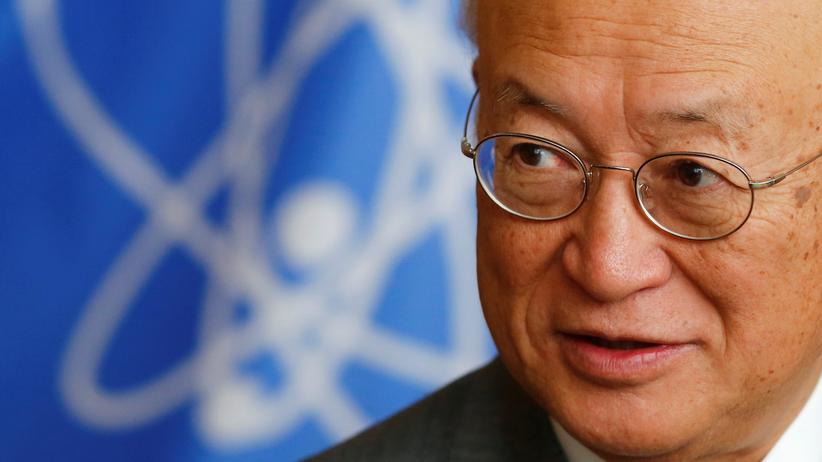 Nordkorea-Konflikt: Der IAEA Direktor Yukiya Amano bei einem Interview in Wien im vergangenen Jahr.