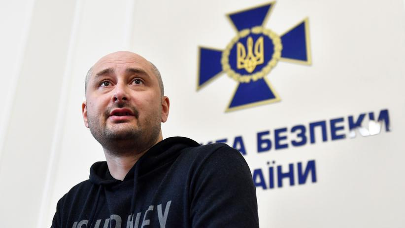 Arkadi Babtschenko: Eine wahre Fake News