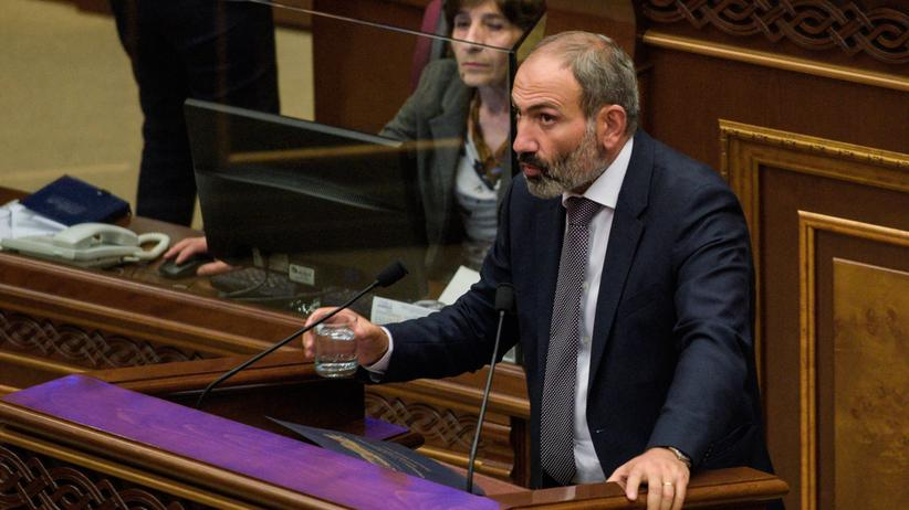 Armeniens neuer Regierungschef: Nikol Paschinjan