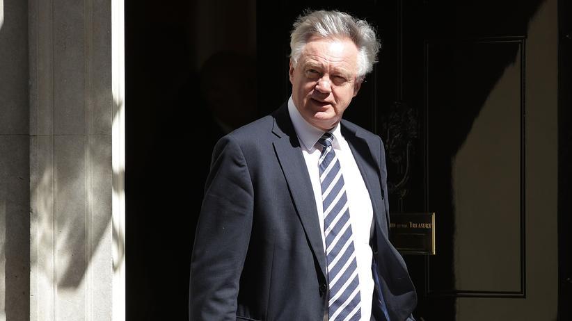 David Davis: Der britische Brexit-Minister David Davis