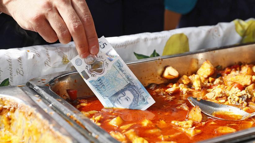 Notenbank: Der Gouverneur der Bank of England, Mark Carney, testet eine neue Geldnote