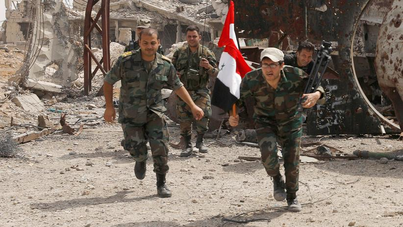 Bürgerkrieg: Syrien meldet Luftangriffe der US-Koalition