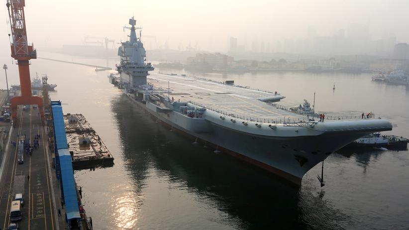 Marine: China testet ersten eigenen Flugzeugträger