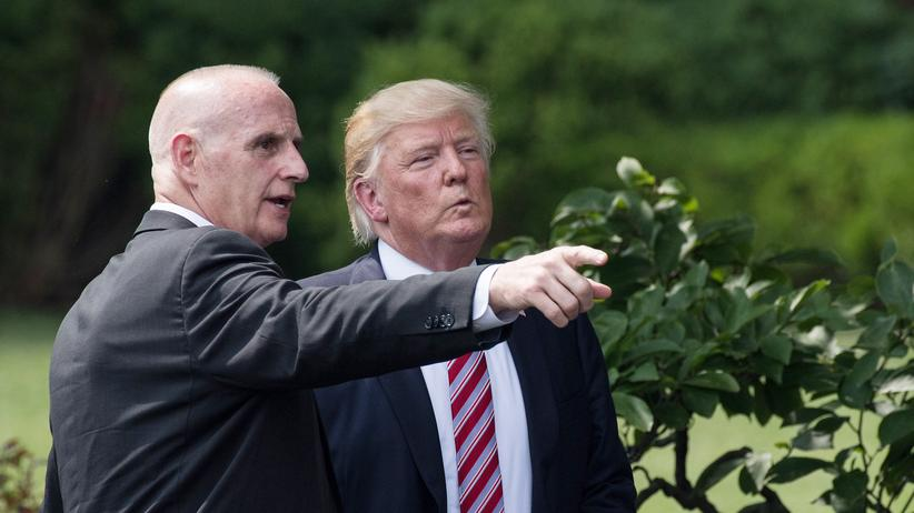 USA: Bodyguard von Trump soll Praxis seines Arztes durchsucht haben