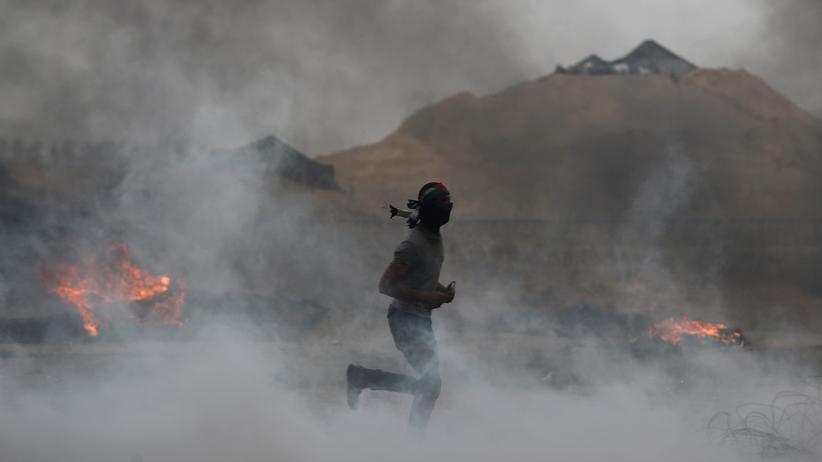 Gazastreifen: Mehr als tausend Palästinenser bei Protesten verletzt