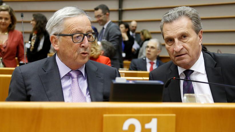 Günther Oettinger: Mehr Geld für Grenzschutz, weniger für Landwirtschaft