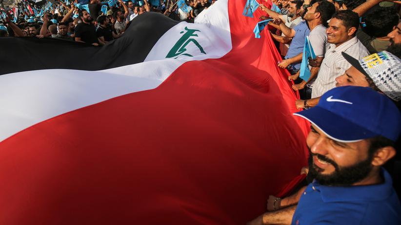 """Parlamentswahl im Irak: """"Ihr seid alle Diebe"""""""