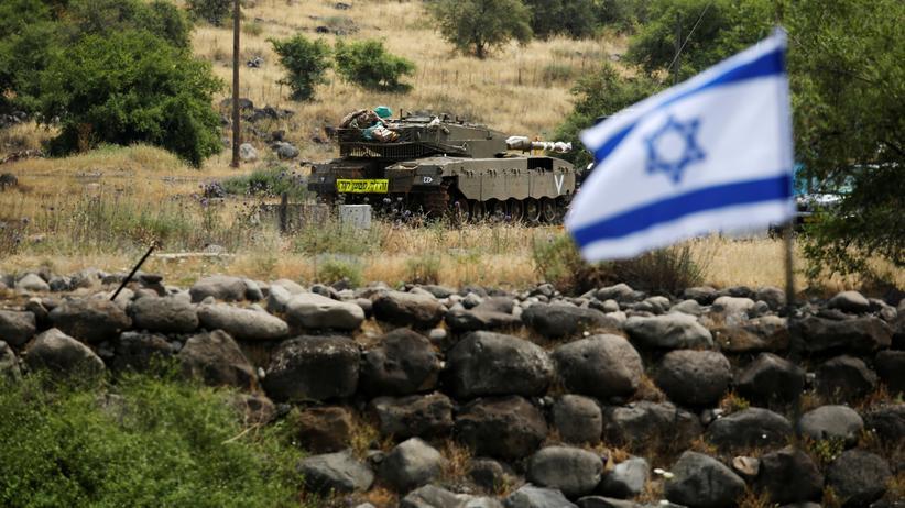 Israelische Armee: Israelisches Militär auf den Golanhöhen