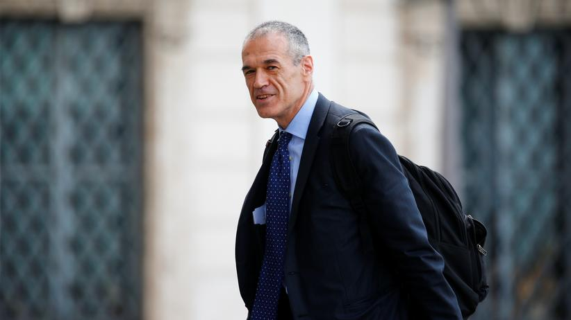 Italien: Ökonom Carlo Cottarelli erhält Auftrag zur Regierungsbildung