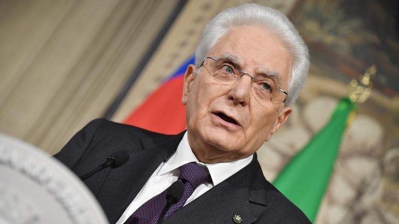 Italien: Staatspräsident erklärt Regierungsbildung für gescheitert