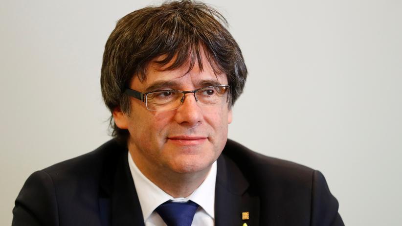 Katalonien: Carles Puigdemont lebt derzeit im Exil in Berlin