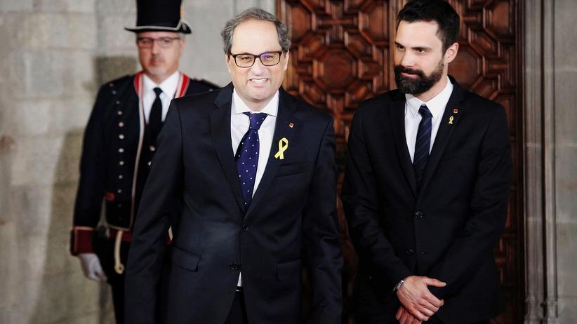 Quim Torra: Kataloniens neue Regierung steht fest