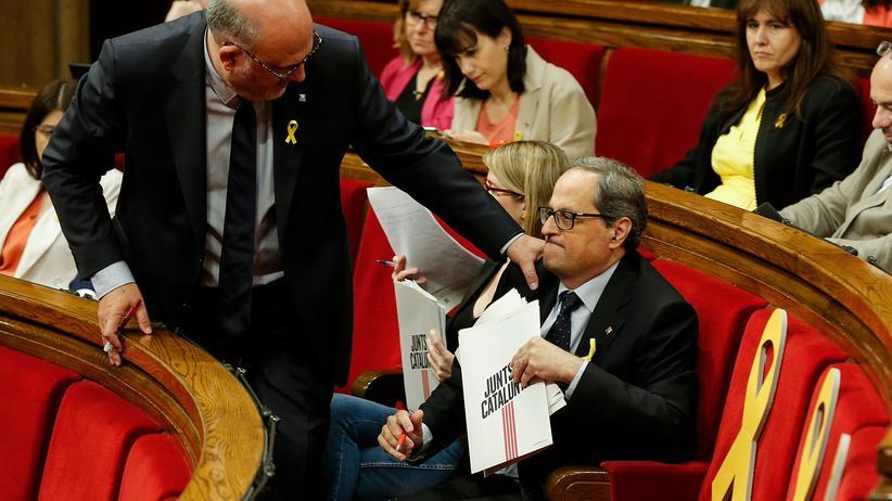 Katalonien: Separatistenkandidat scheitert im ersten Wahlgang