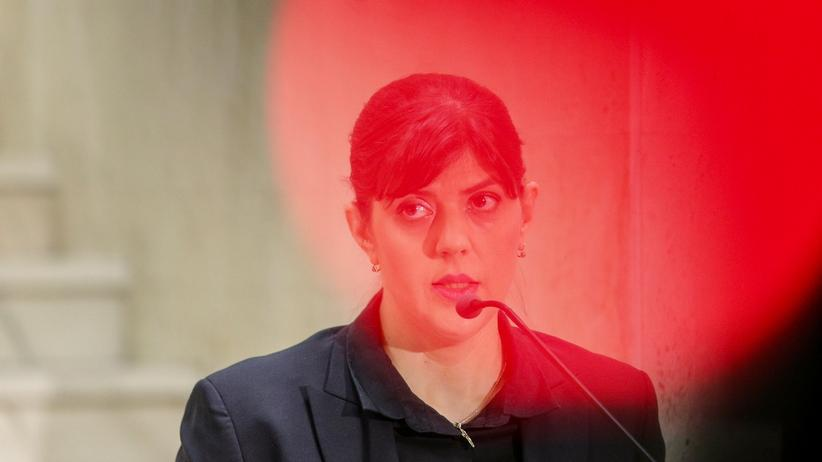 Rumänien: Laura Codruța Kövesi ist 44 Jahre alt und wurde 2013 zur Leiterin der rumänischen Antikorruptionsbehörde ernannt.