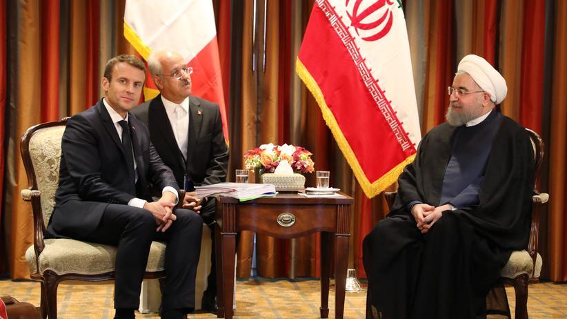 US-Rückzug aus Iran-Deal: Macron will Atomabkommen erhalten