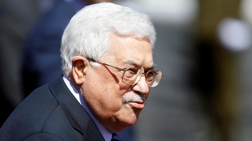 Antisemitische Rede: Abbas gibt Juden Schuld an Holocaust