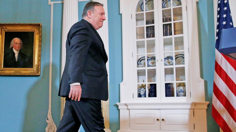 """Iran-Abkommen: USA drohen Iran mit """"stärksten Sanktionen der Geschichte"""""""