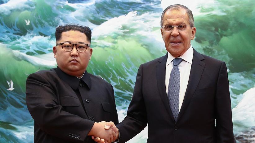 Nordkorea: Kim lobt Russlands Widerstand gegen US-Hegemonie