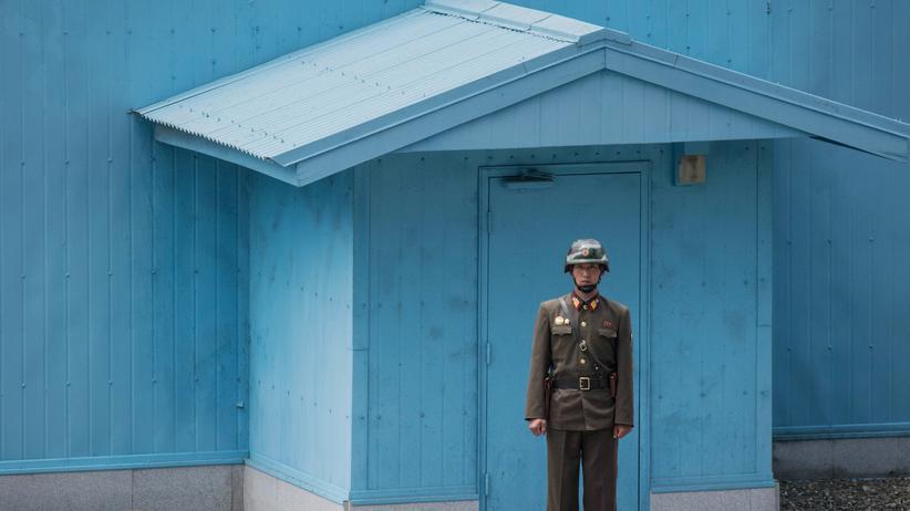 Kim Jong Un: An der Grenze zwischen Nord- und Südkorea