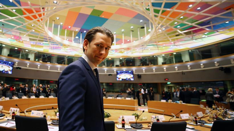 Sebastian Kurz: Österreich will EU-Grenzschützer in Nordafrika einsetzen