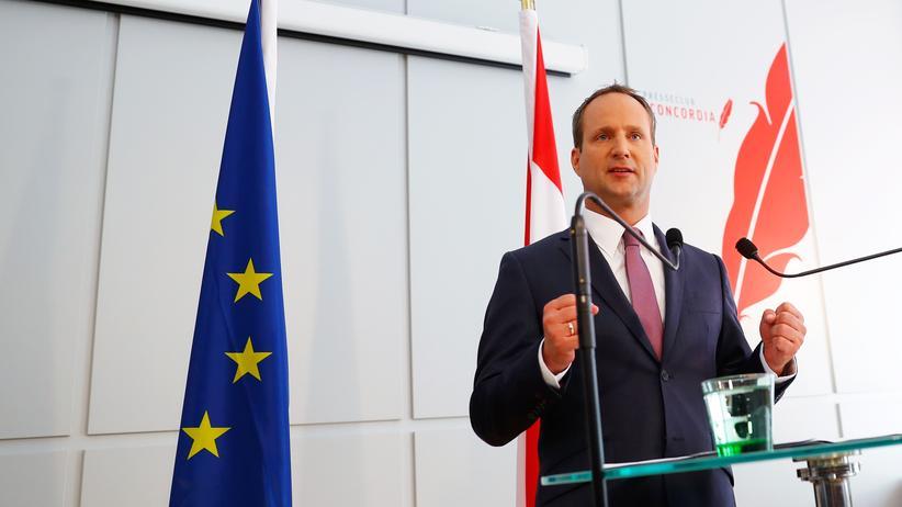 Österreich: Der scheidende Parteivorsitzende der Neos, Matthias Strolz