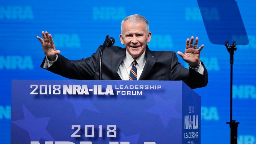 Oliver North: Oliver North wird neuer Chef der US-Waffenlobby NRA.