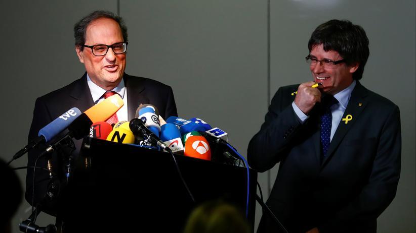 Katalonien: Wer ist denn nun der Präsident?