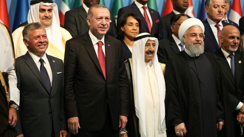 Sondergipfel der OIC: Erdoğan wirft Israel Nazimethoden vor