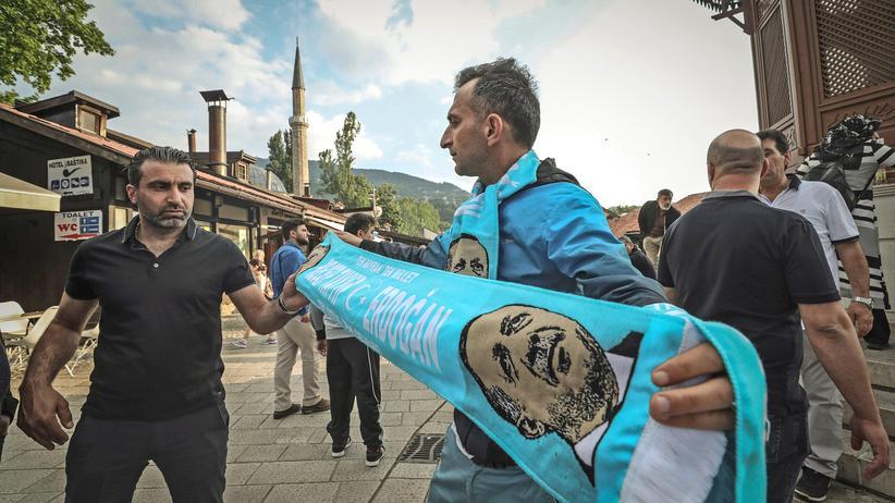 Recep Tayyip Erdogan Sarajevo