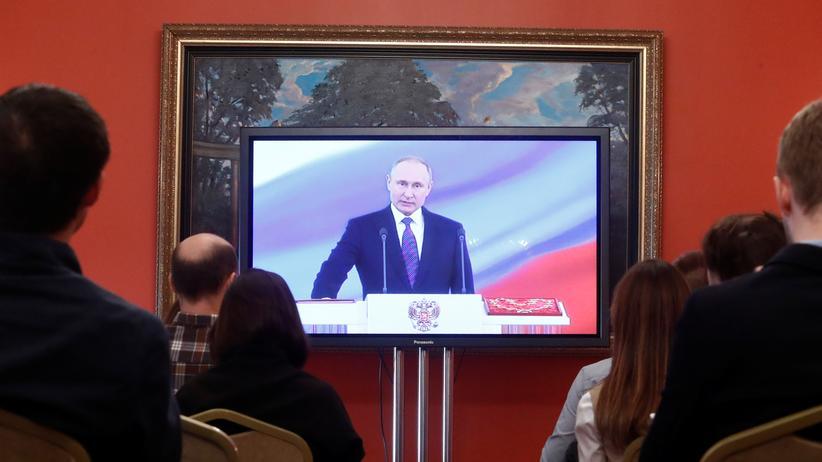 Russland: Putin als russischer Präsident vereidigt