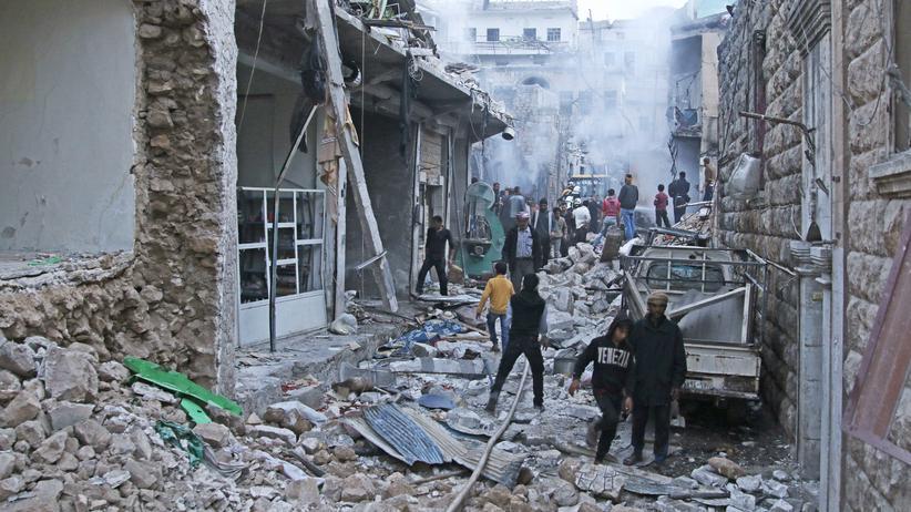 Syrien: Die Region Idlib war zuletzt immer wieder Ziel von Luftangriffen.