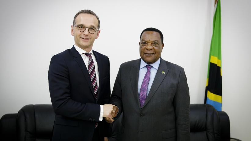 Afrikareise von Heiko Maas: Tansania will keine Entschädigung von Deutschland