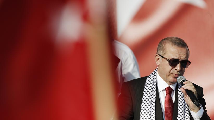 Wahlkampf in der Türkei : Erdoğan verschreckt die Investoren