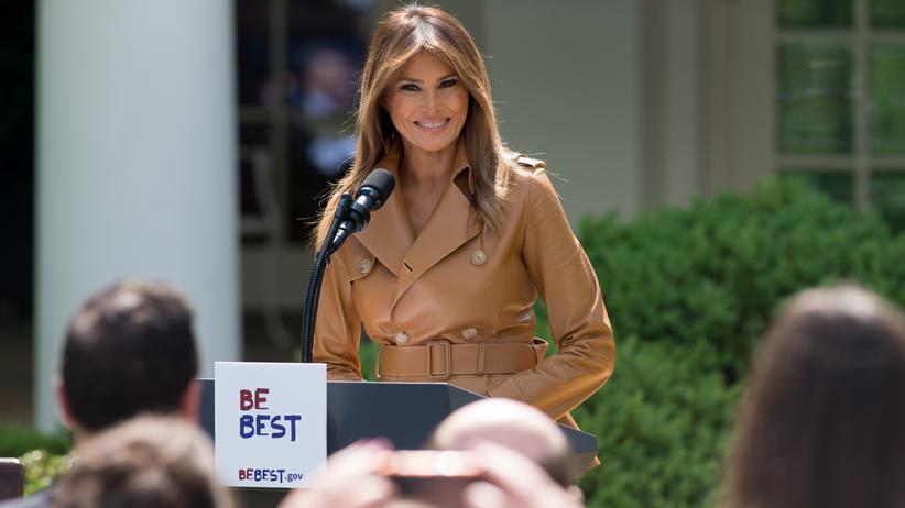 USA: Melania Trump will Kindeswohl fördern