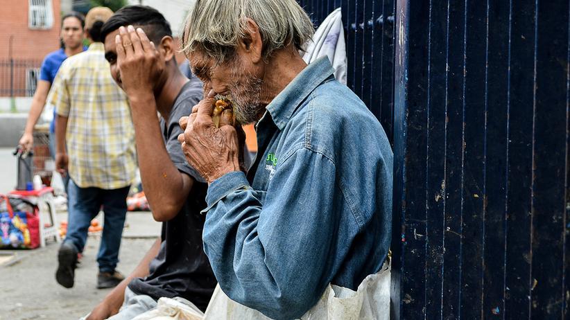Venezuela: Hunger und Armut sind in Venezuela offensichtlich
