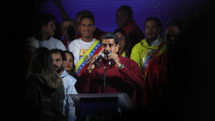 Nicolás Maduro: USA verschärfen Sanktionen gegen Venezuela