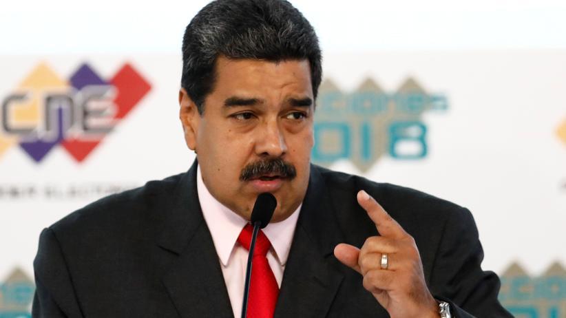 Nicolás Maduro: Der venezolanische Präsident Nicolás Maduro in Caracas, Venezuela
