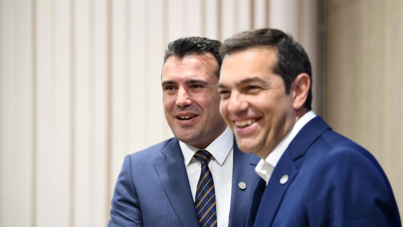 Zoran Zaev Alexis Tsipras