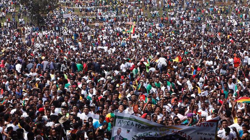 Äthiopien: Tote und Verletzte bei Explosion während Regierungskundgebung