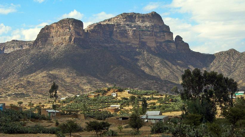 Grenzkonflikt: Berge im Grenzgebiet von Äthiopien und Eritrea