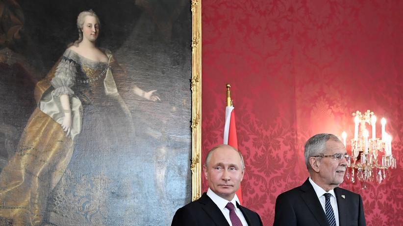 Russland: Putin fordert Aufhebung der Sanktionen