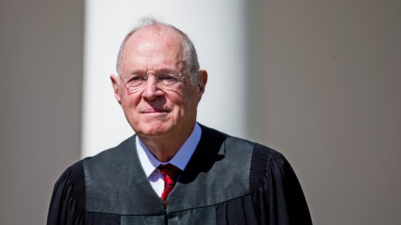 Anthony Kennedy: Will nur noch bis Sommer Richter am obersten Gericht der USA sein: Anthony Kennedy.