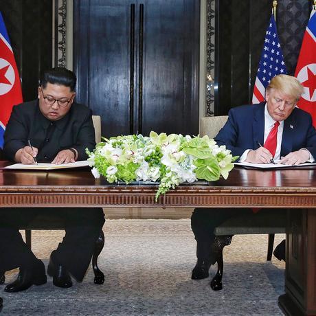 USA und Nordkorea: Die gemeinsame Erklärung von Trump und Kim