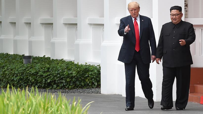 Donald Trump und Kim Jong Un: Wandel durch Schulterklopfen