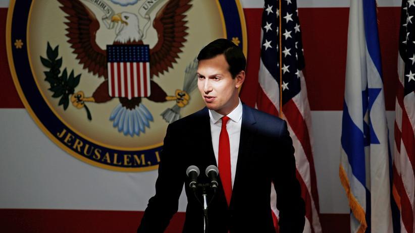"Jared Kushner: US-Friedensplan für Nahost ""fast fertig"""