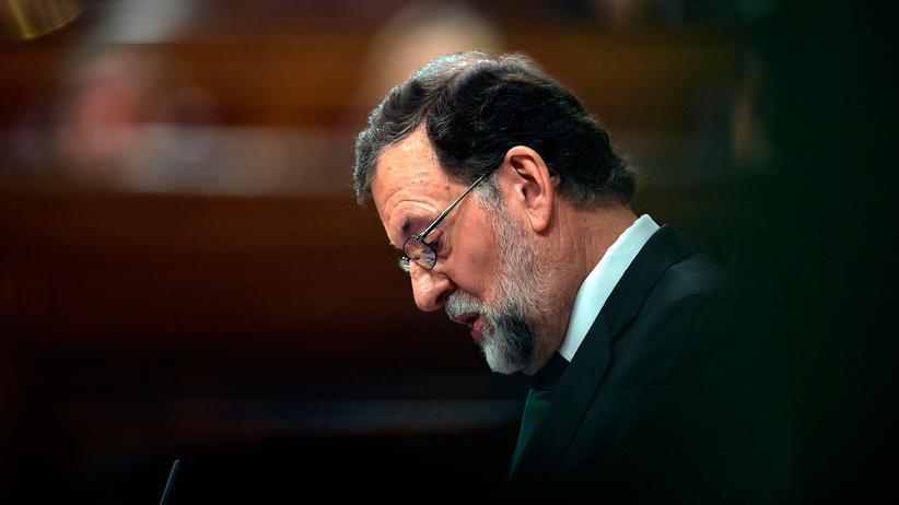 Misstrauensvotum: Rajoy gesteht Niederlage ein